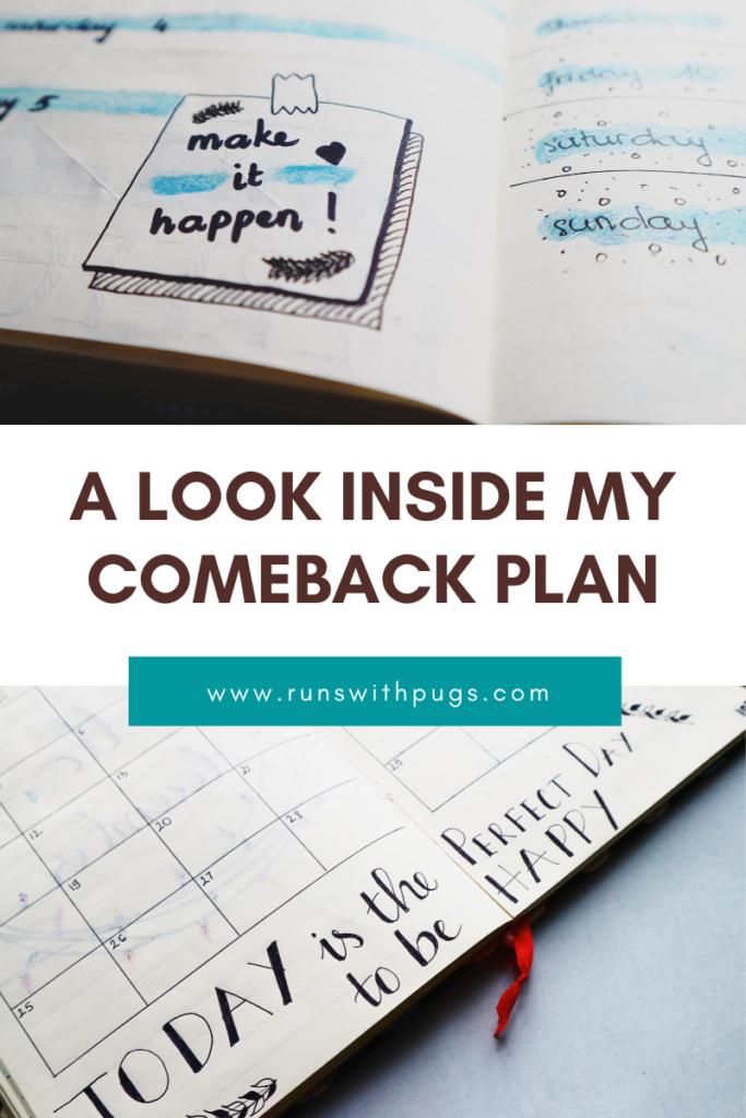 comeback plan