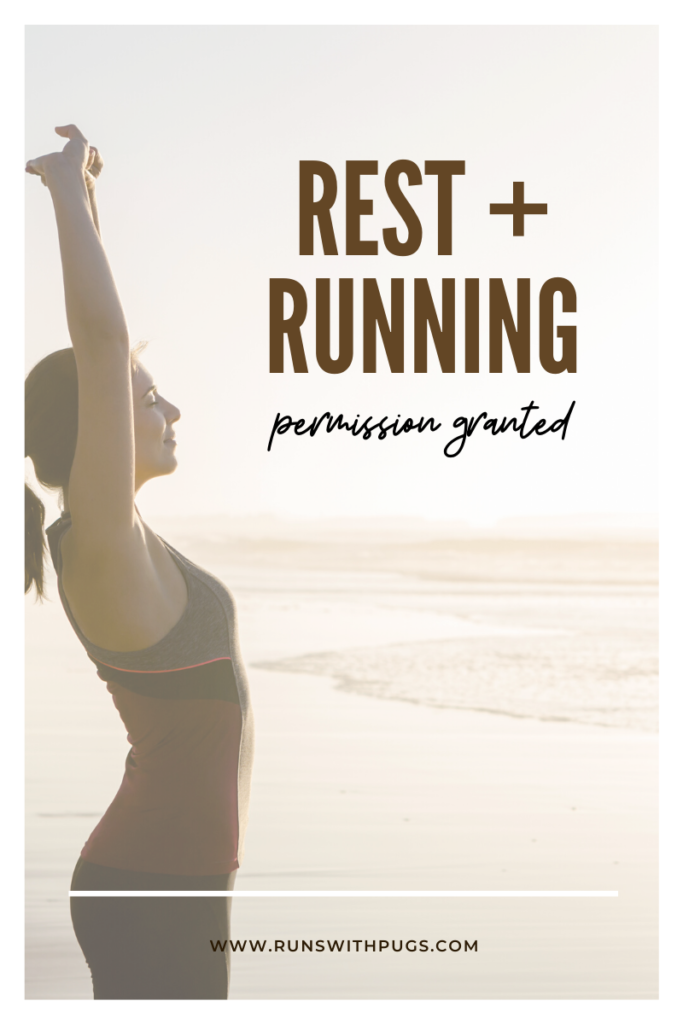 rest and running