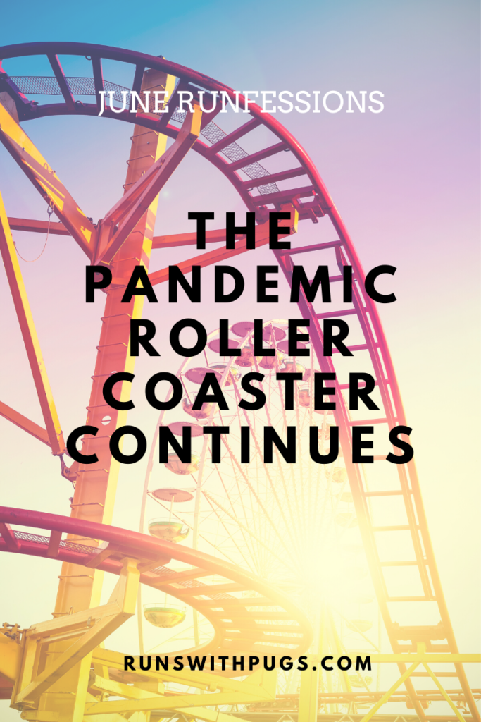 PANDEMIC ROLLER COASTER