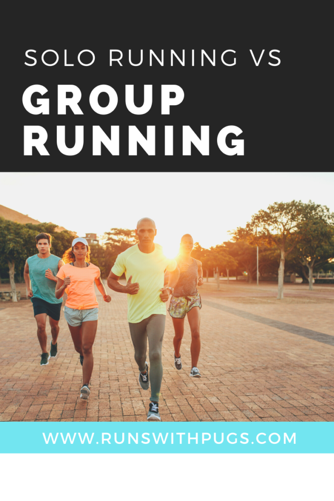 solo running vs group running