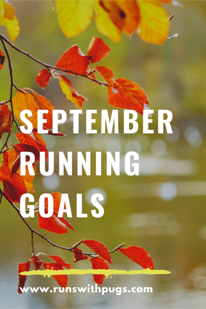 september running goals