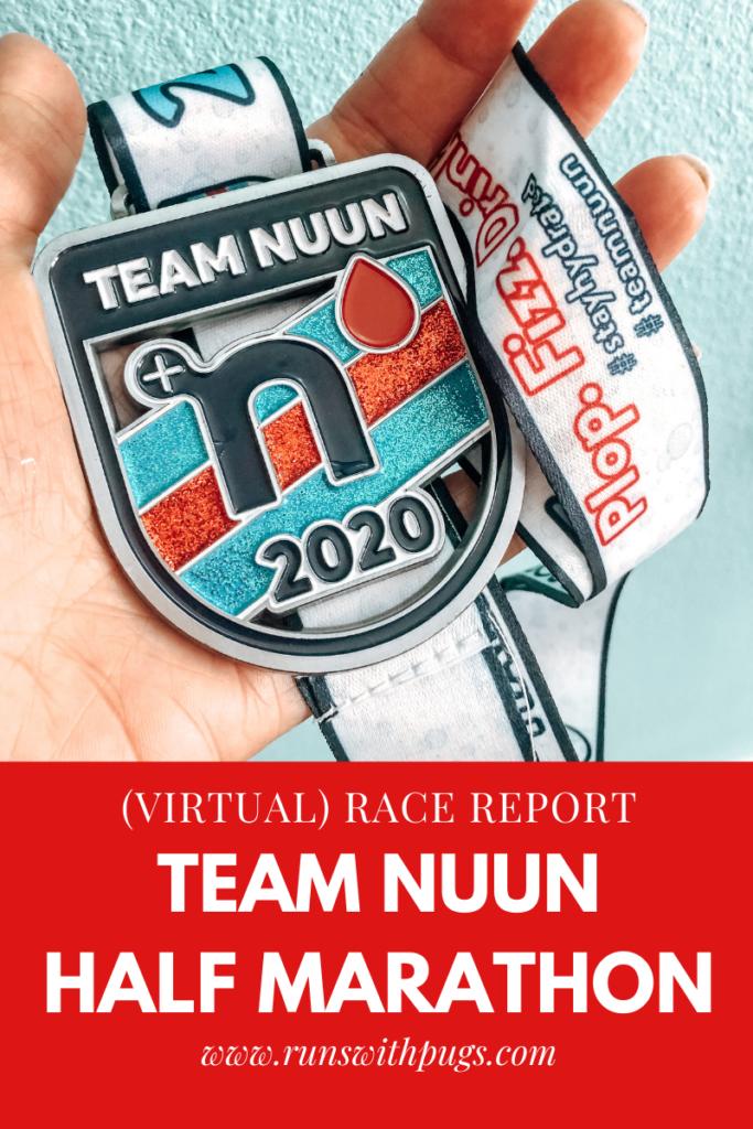 team nuun half marathon