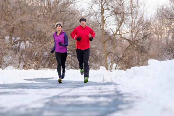 keep motivated on winter runs