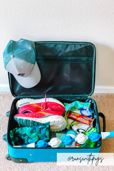 pack for running trips