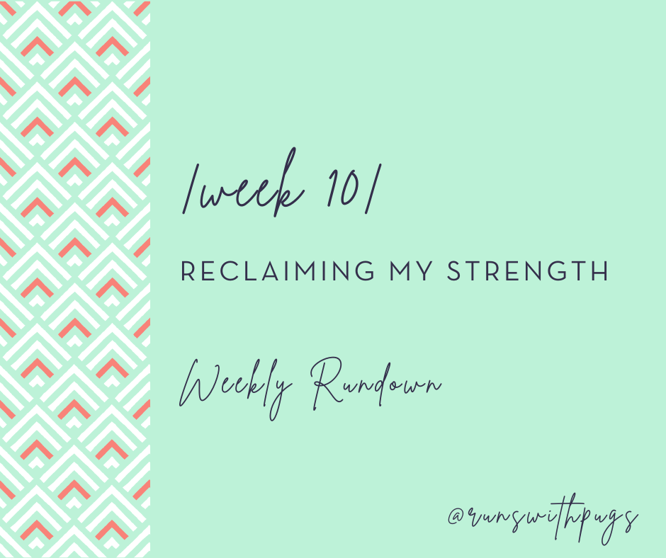 reclaiming my strength